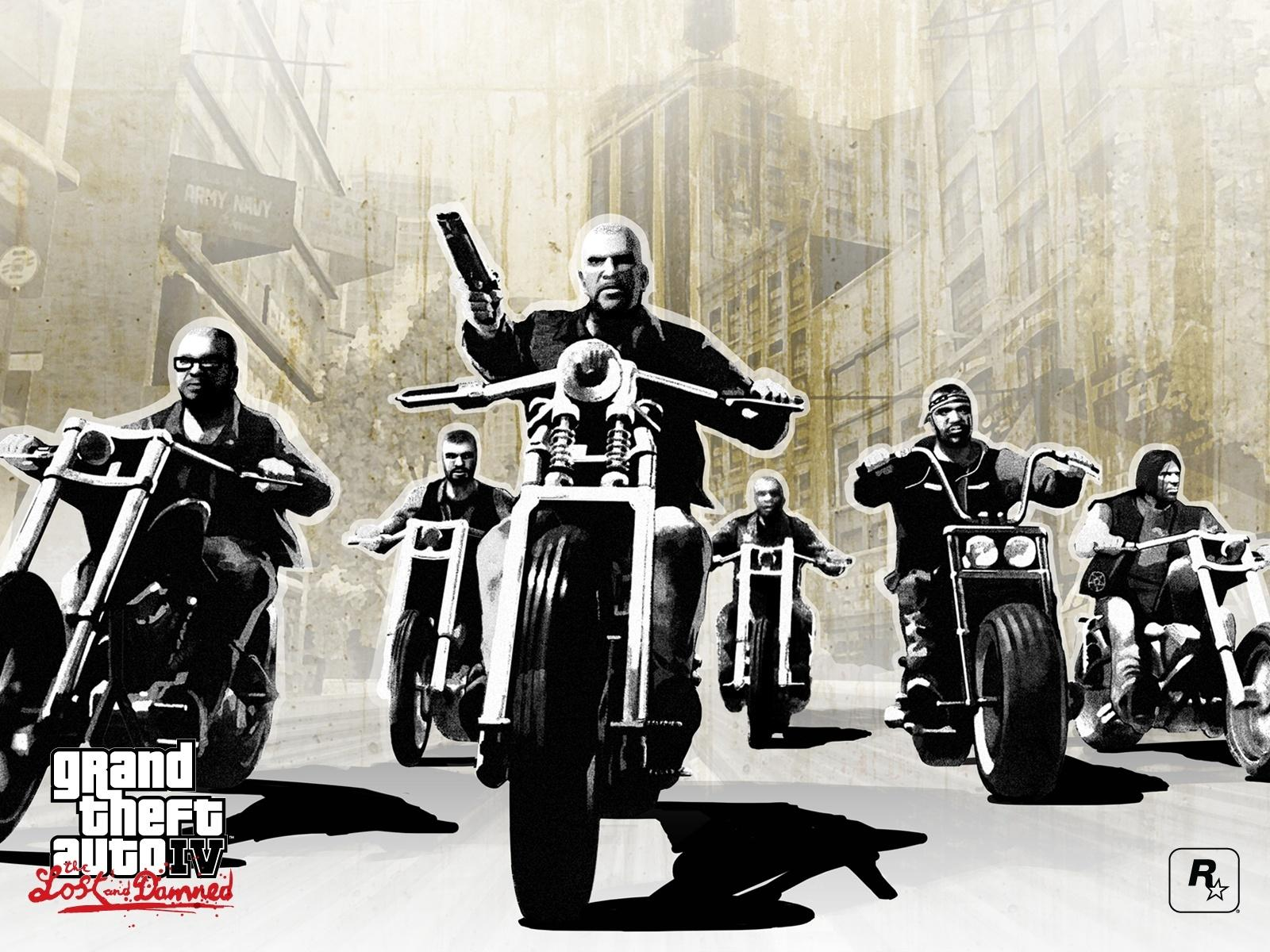Обои Grand Theft Auto IV: Lost and Damned 1600x1200