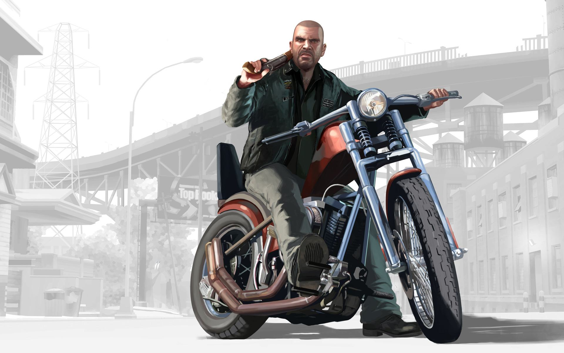 Обои Grand Theft Auto IV: The Lost and Damned 1920x1200