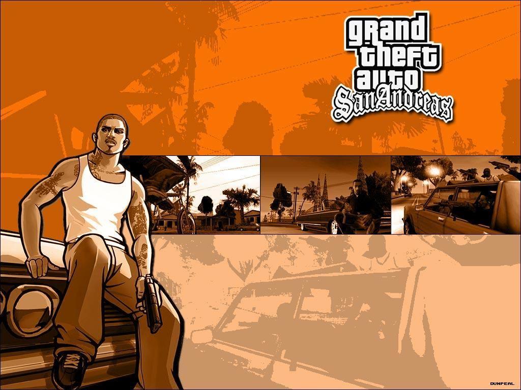 Обои Grand Theft Auto: San Andreas 1024x768