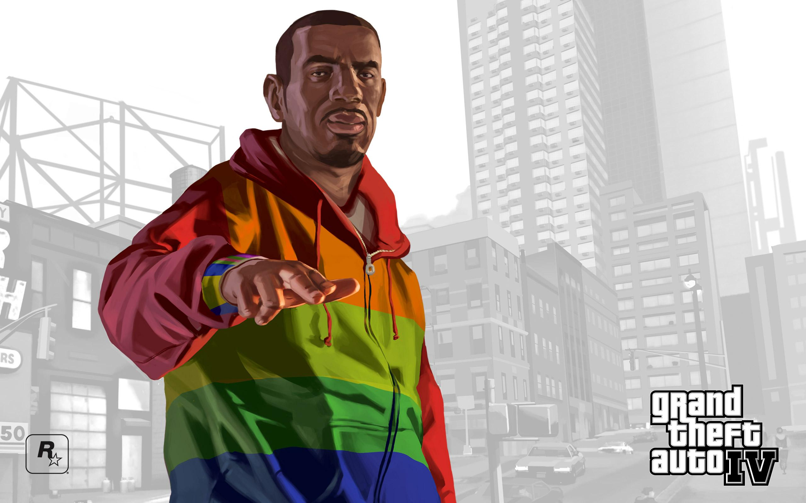 Обои GTA IV, Playboyx 2560x1600