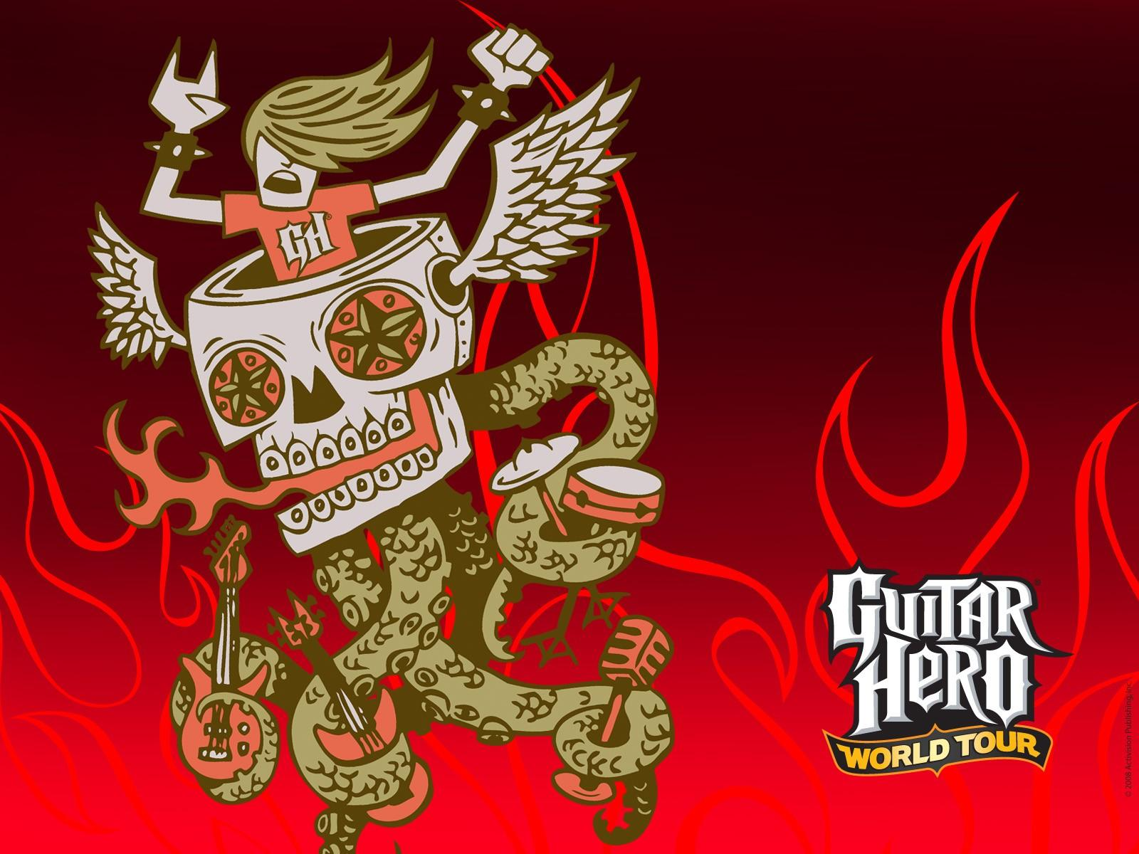 Обои Guitar Hero World Tour 1600x1200