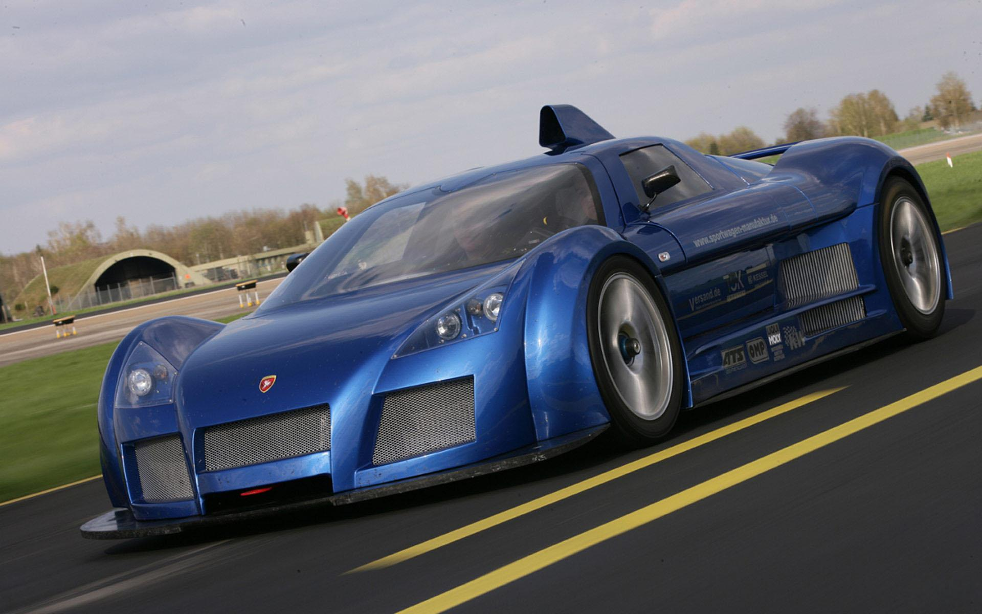 Обои Gumpert Apollo 1920x1200