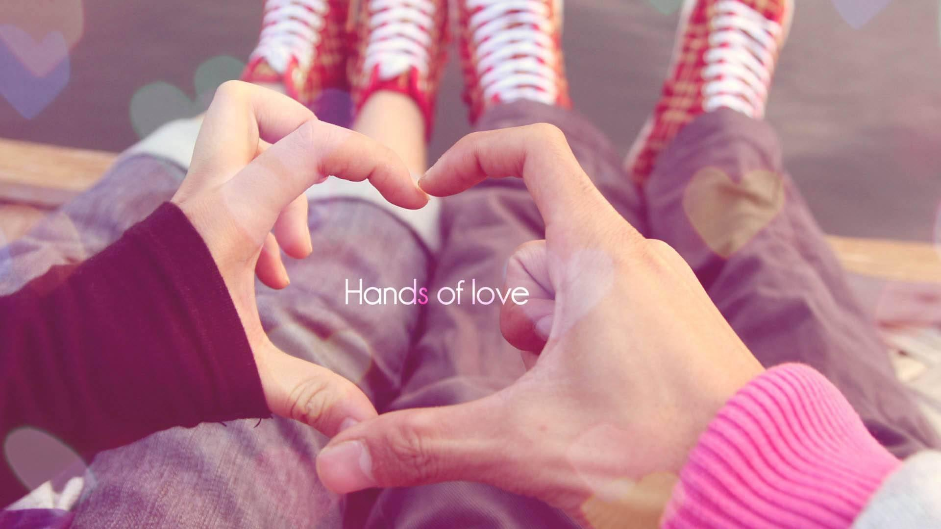 Обои Hands of love 1920x1080