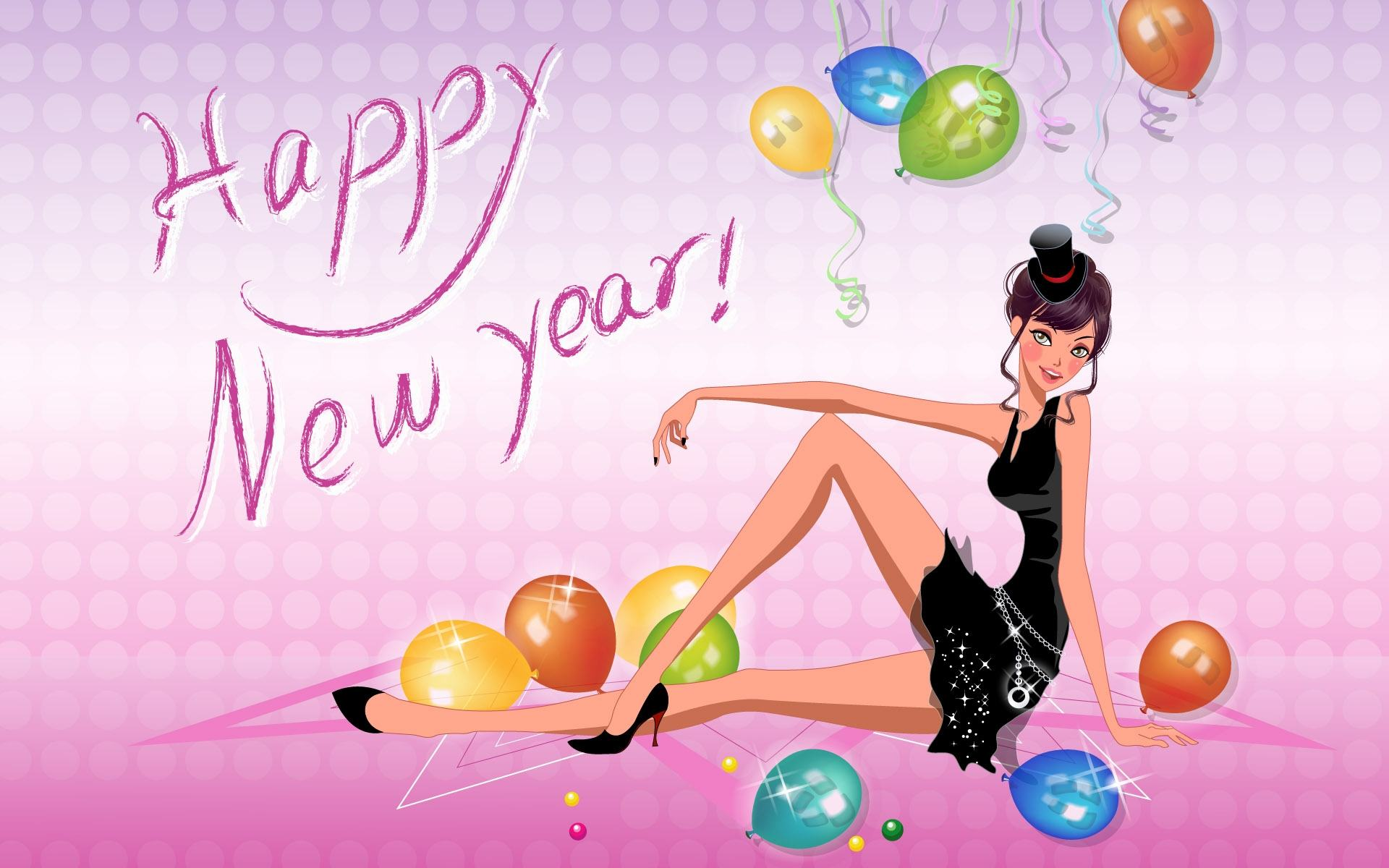 Обои Happy New Year 1920x1200