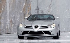 Headlights Mercedes-Benz SLR McLaren / 1600x1200