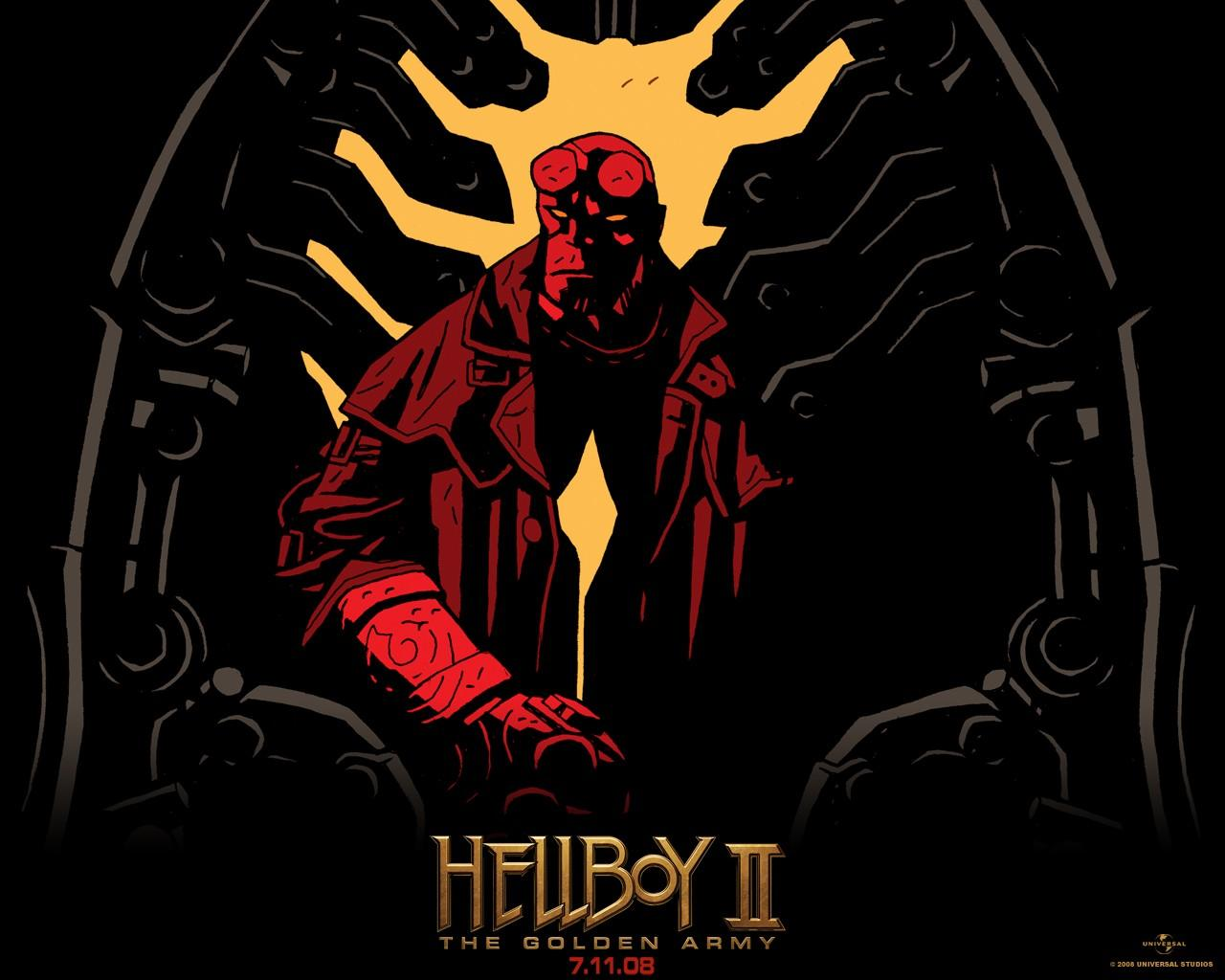 Обои Hellboy 2: The Golden Army 1280x1024