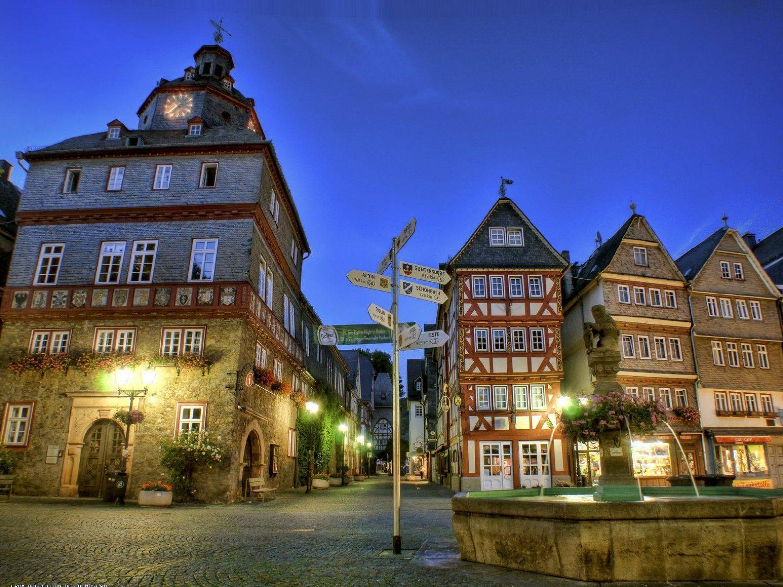 Обои Herborn, Germany 1600x1200