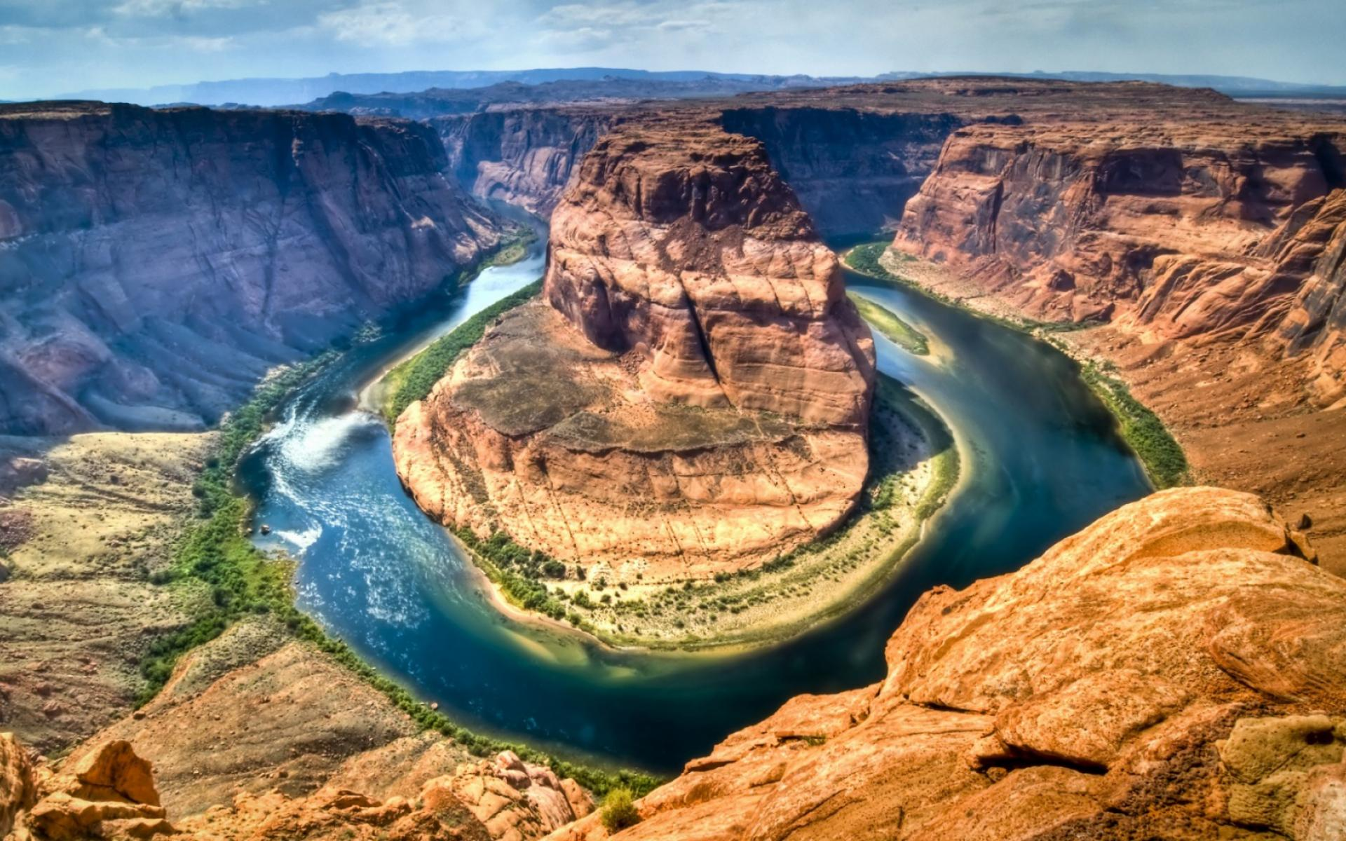 Обои Horseshoe Bend 1920x1200