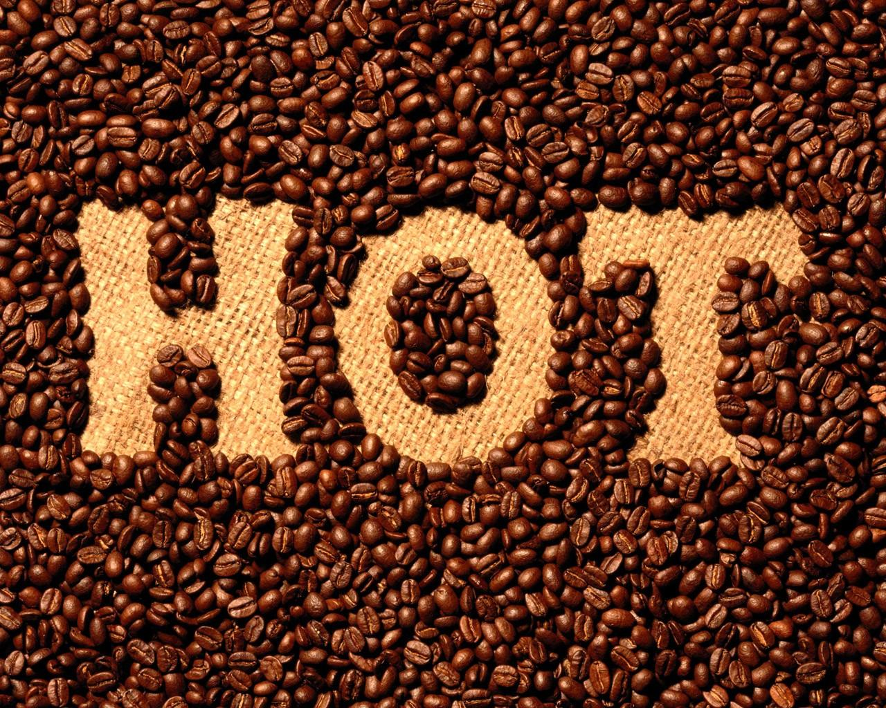 Обои Hot Coffee 1280x1024