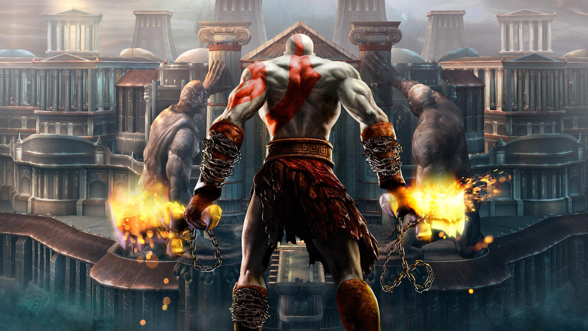 Обои Игра God of War 3 1920x1080
