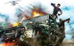 Игра Just Cause 2 / 2560x1600