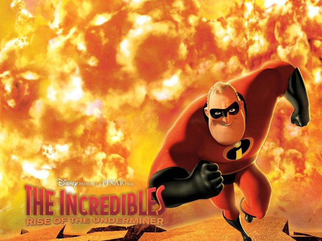Обои Incredibles Rise of Underminer 1024x768