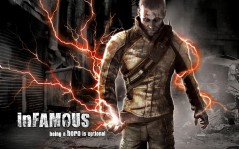 InFamous, PlayStation 3 / 1920x1200