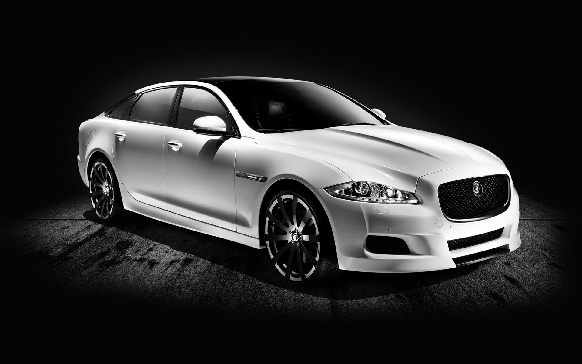 Скачать обои jaguar xj75 platinum design 1920x1200