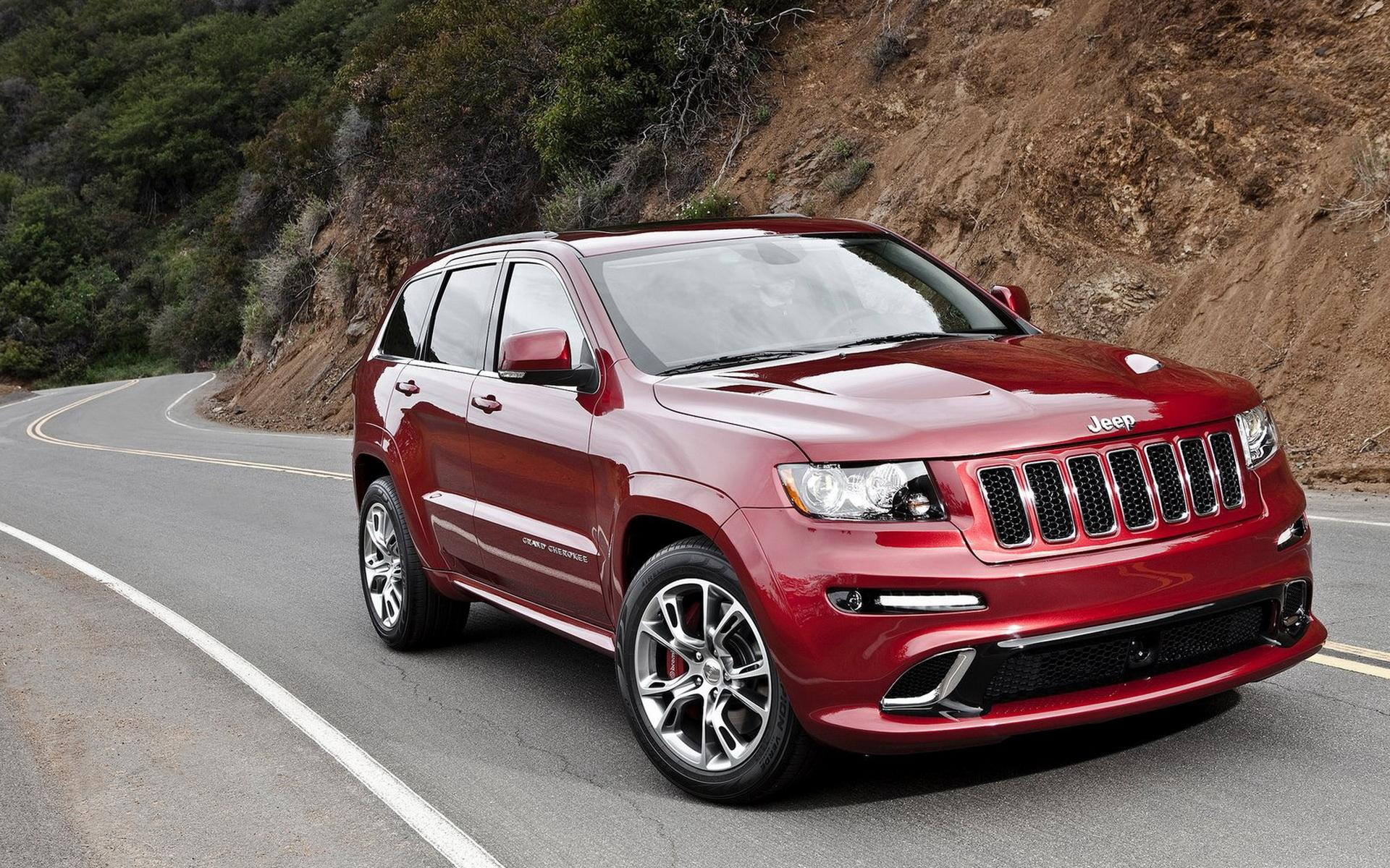 Обои Jeep-Grand Cherokee SRT8 1920x1200
