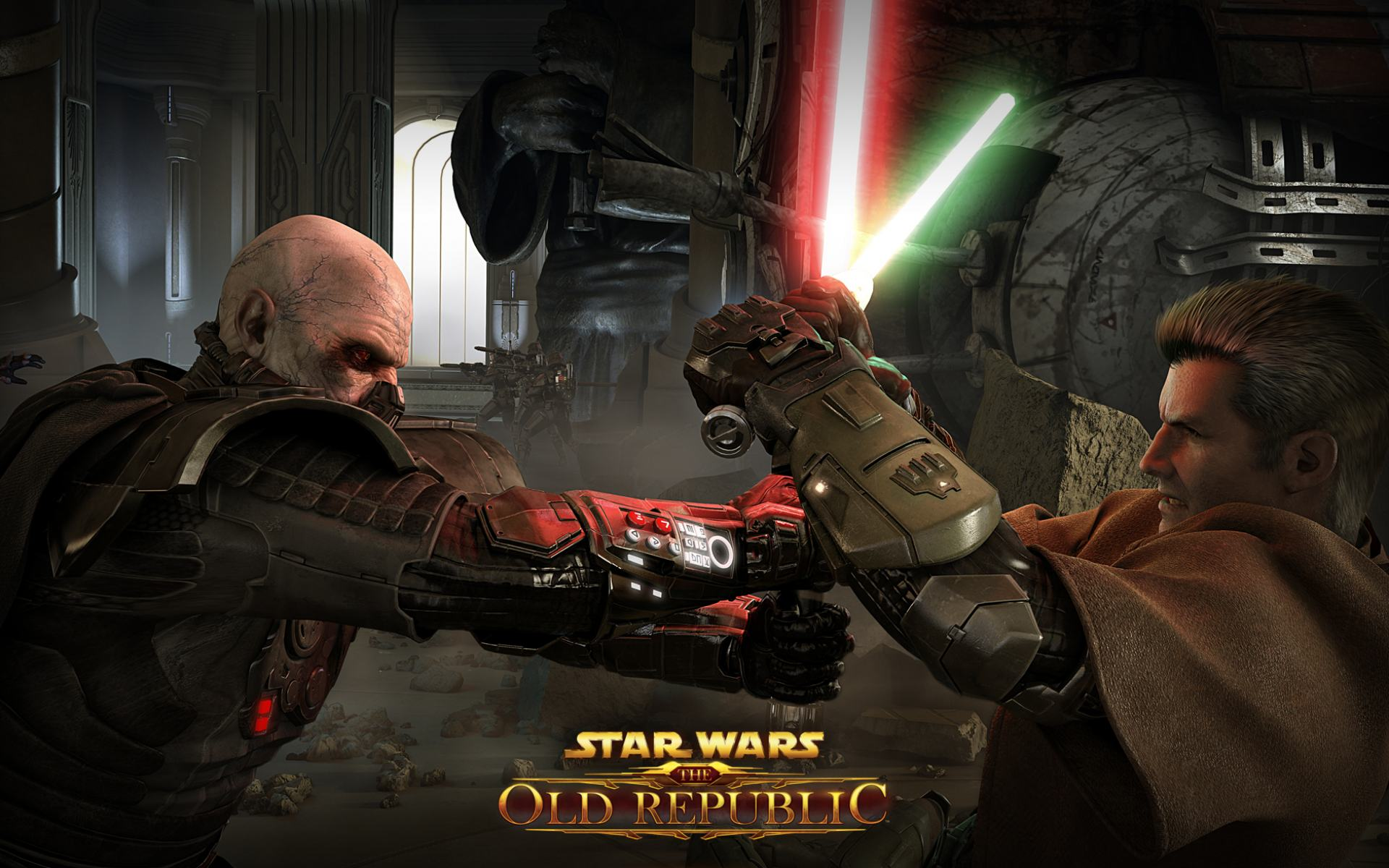 Обои К игре Star Wars Old Republic 1920x1200
