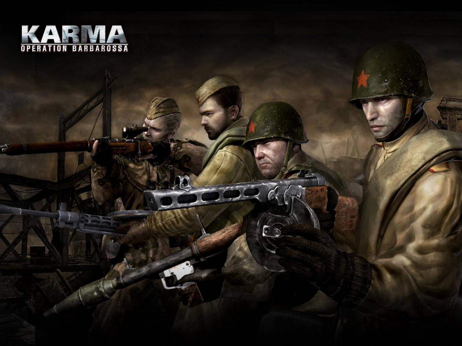 Обои Karma Operation Barbarossa 1600x1200