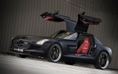 Kicherer Mercedes Benz SLS Supersport Edition Blac / 1600x1200
