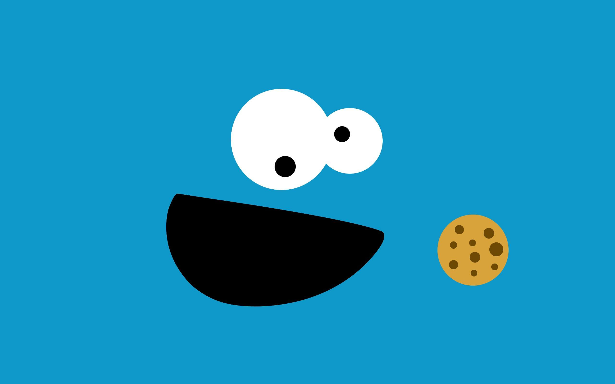 Обои Коржик aka Cookie Monster 2560x1600