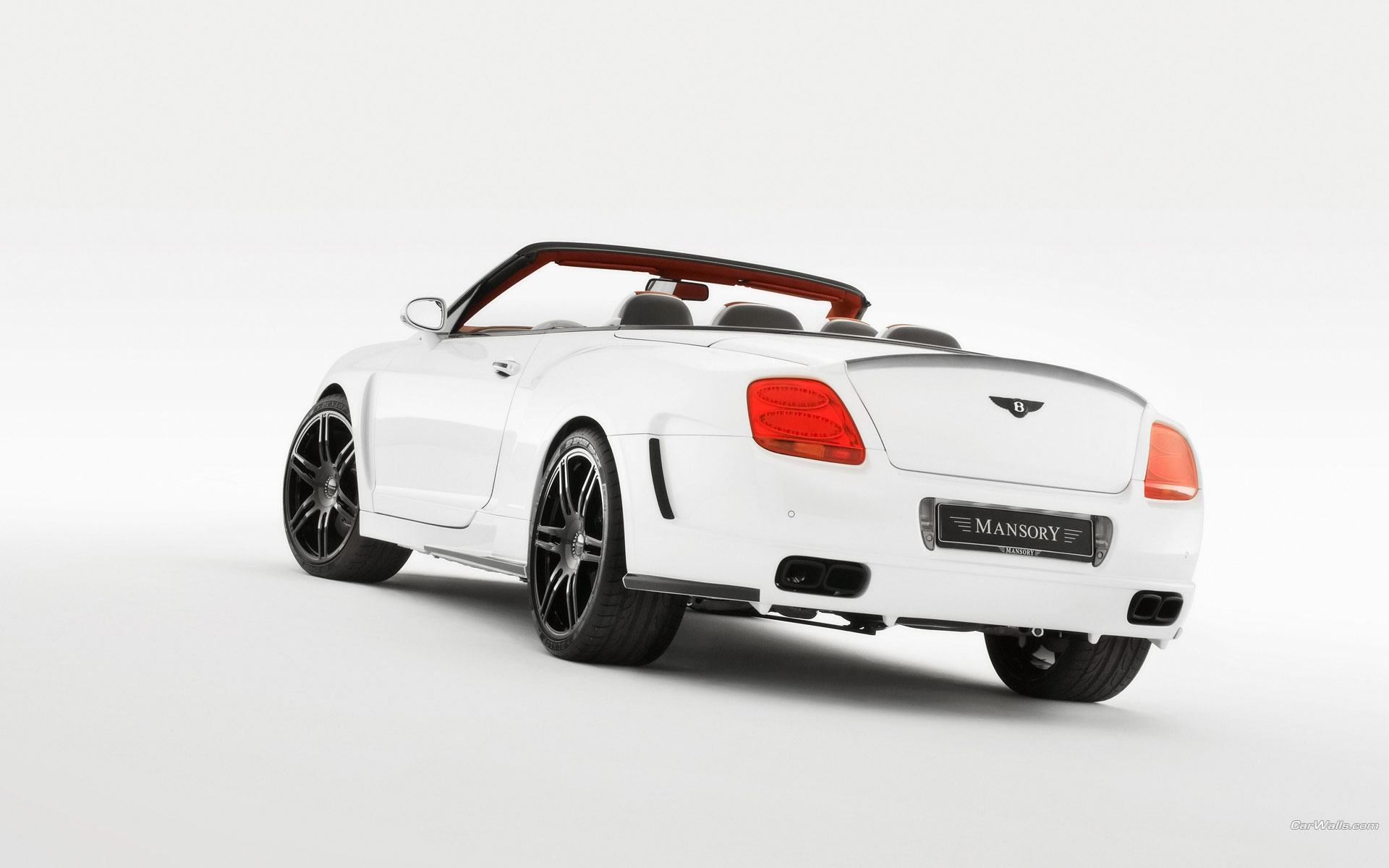 Обои Красавец Bentley Continental GTC 1920x1200