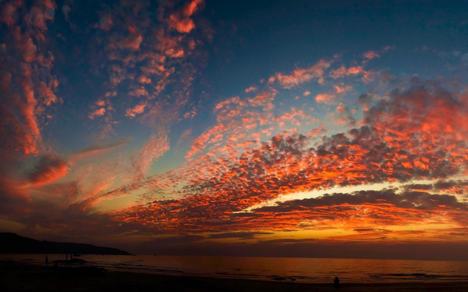 Обои красивые природы закатное небо