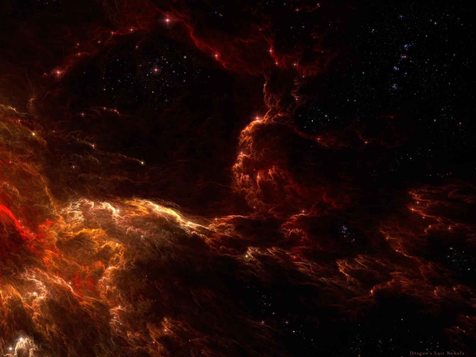 Рабочего стола космос красный космос
