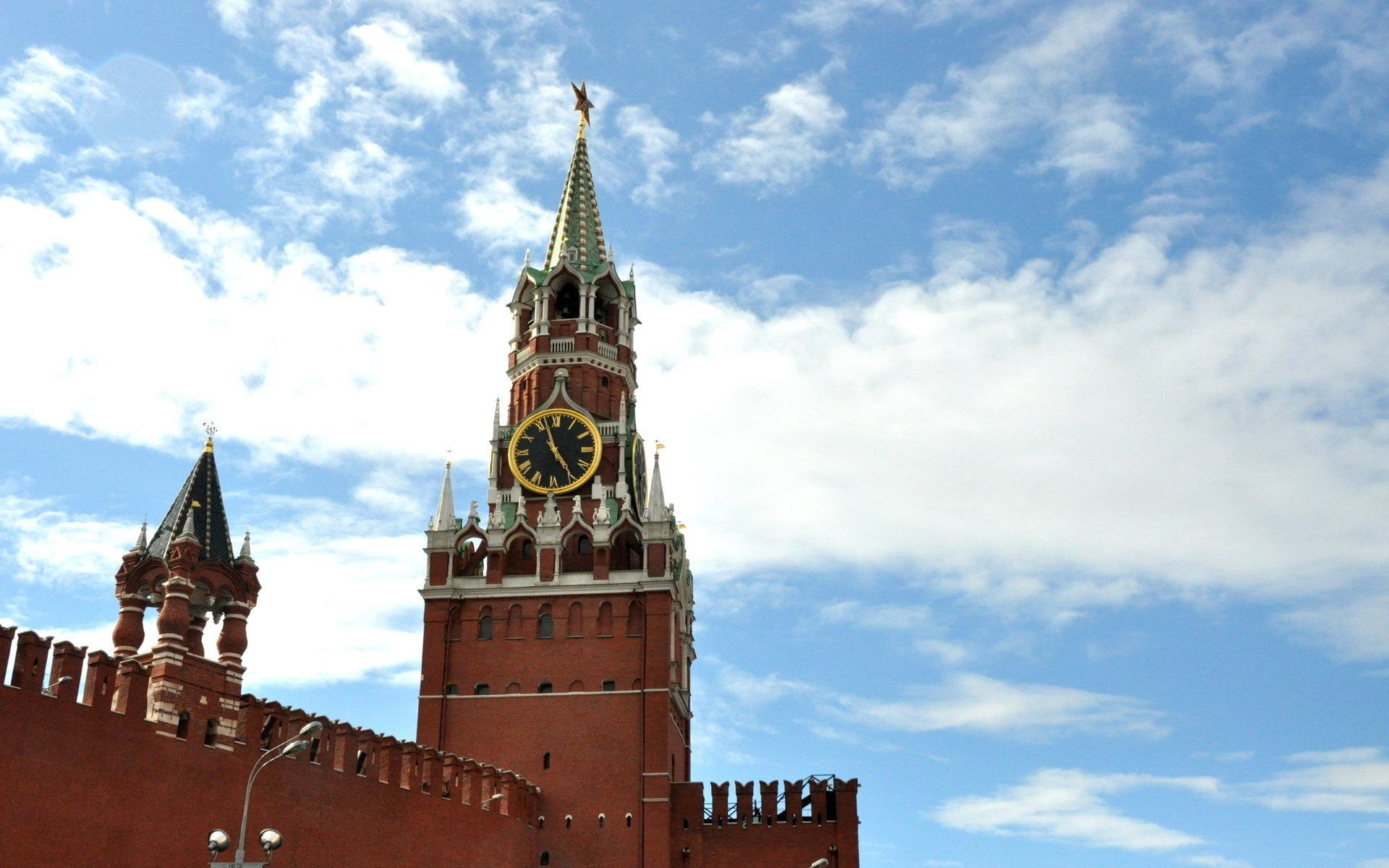 Кремль москва обои 1920x1200