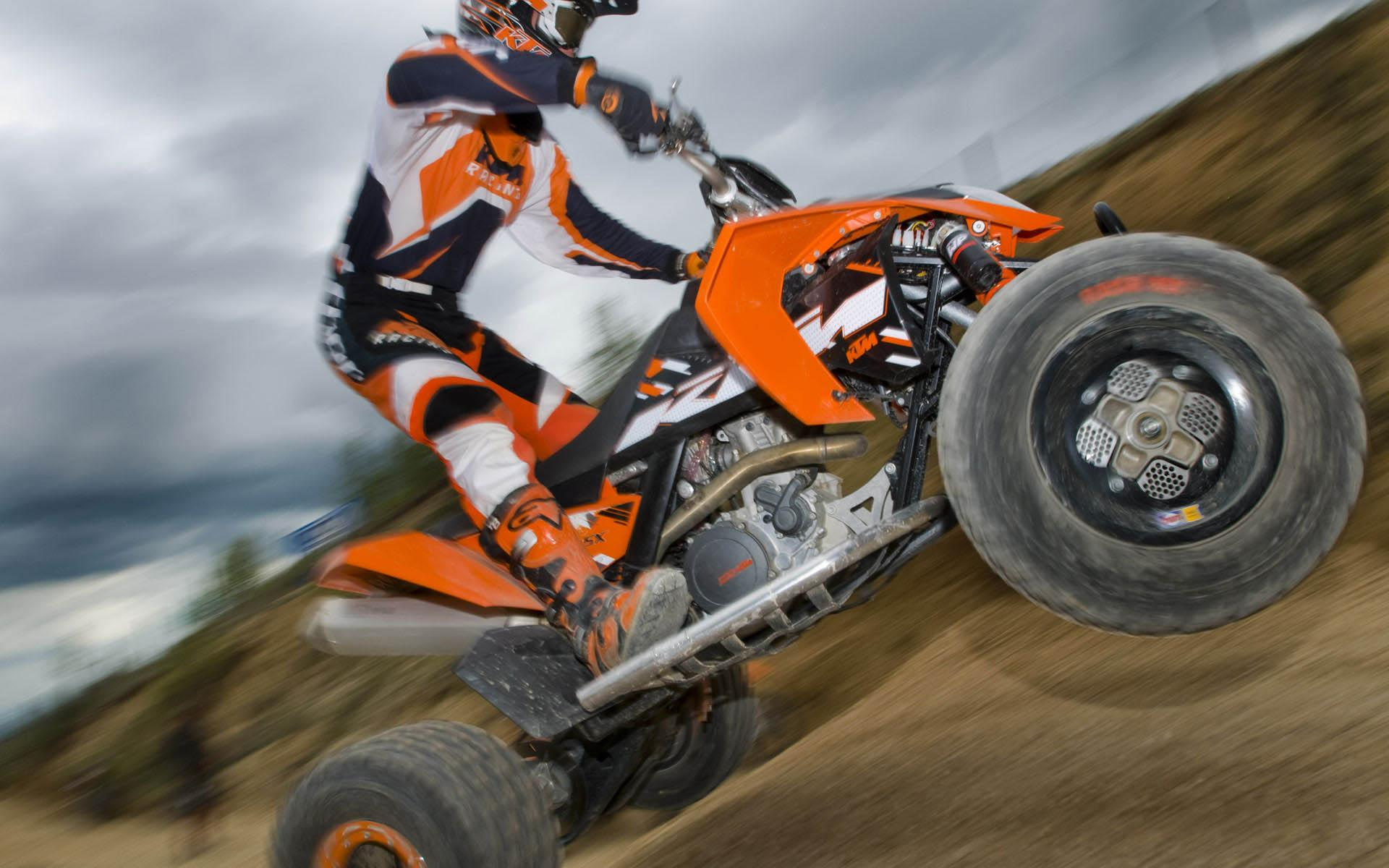 ���� KTM 450SX ATV ACTION 1920x1200