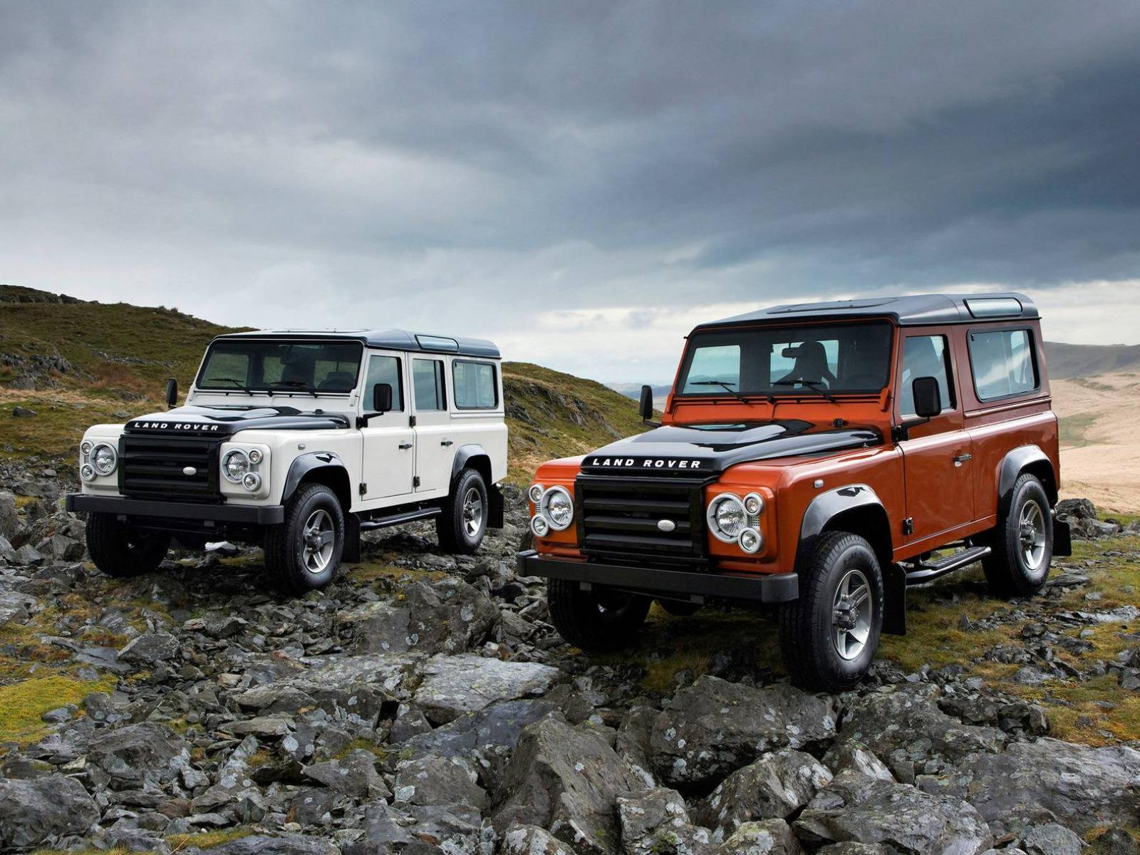 Обои Land Rover Defender 1600x1200