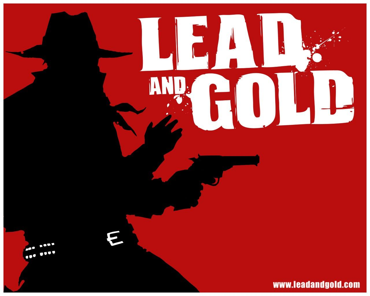 Обои Lead and Gold: Gangs of the Wild West 1280x1024