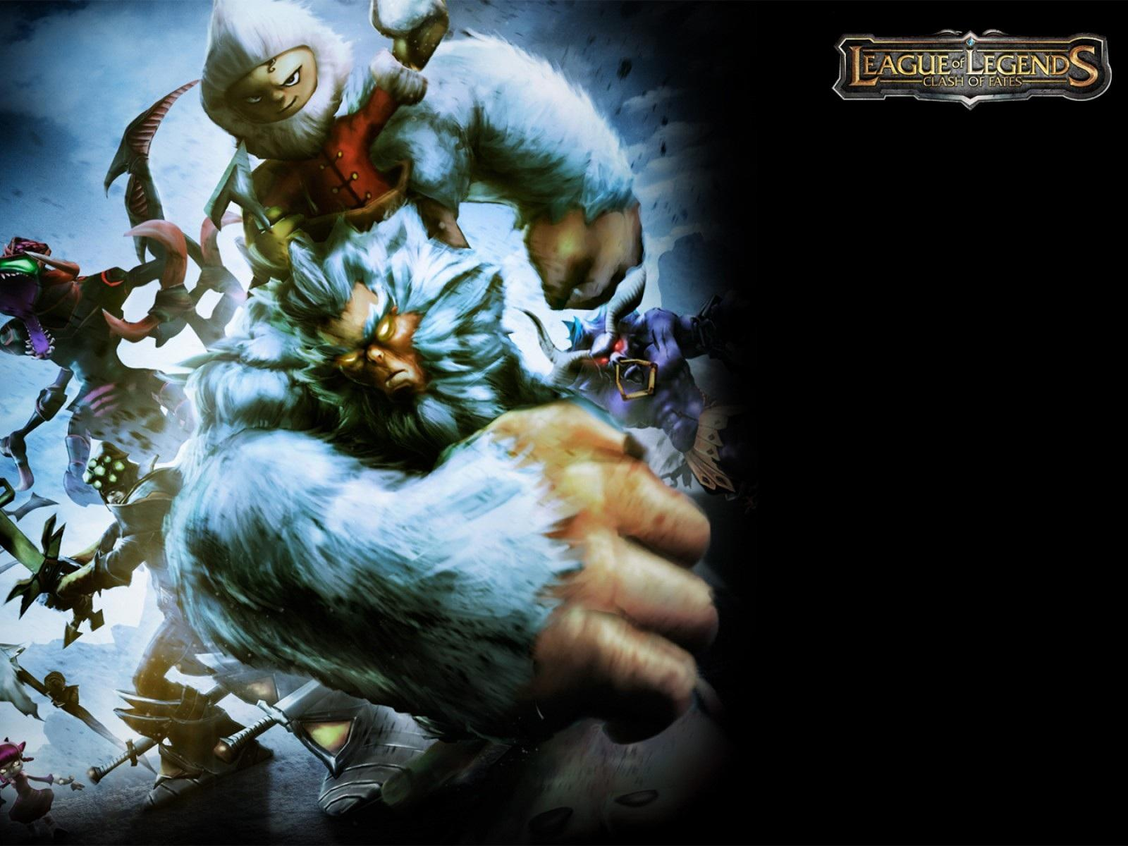 Обои League of Legends: Clash of Fates 1600x1200