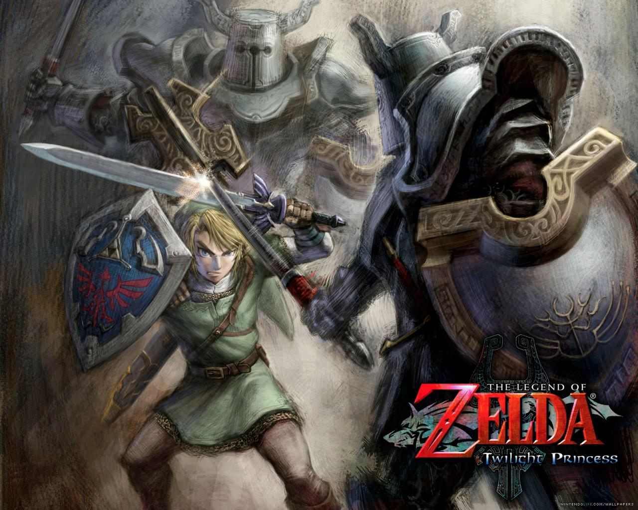 Обои Legend of Zelda Twilight Princess 1280x1024