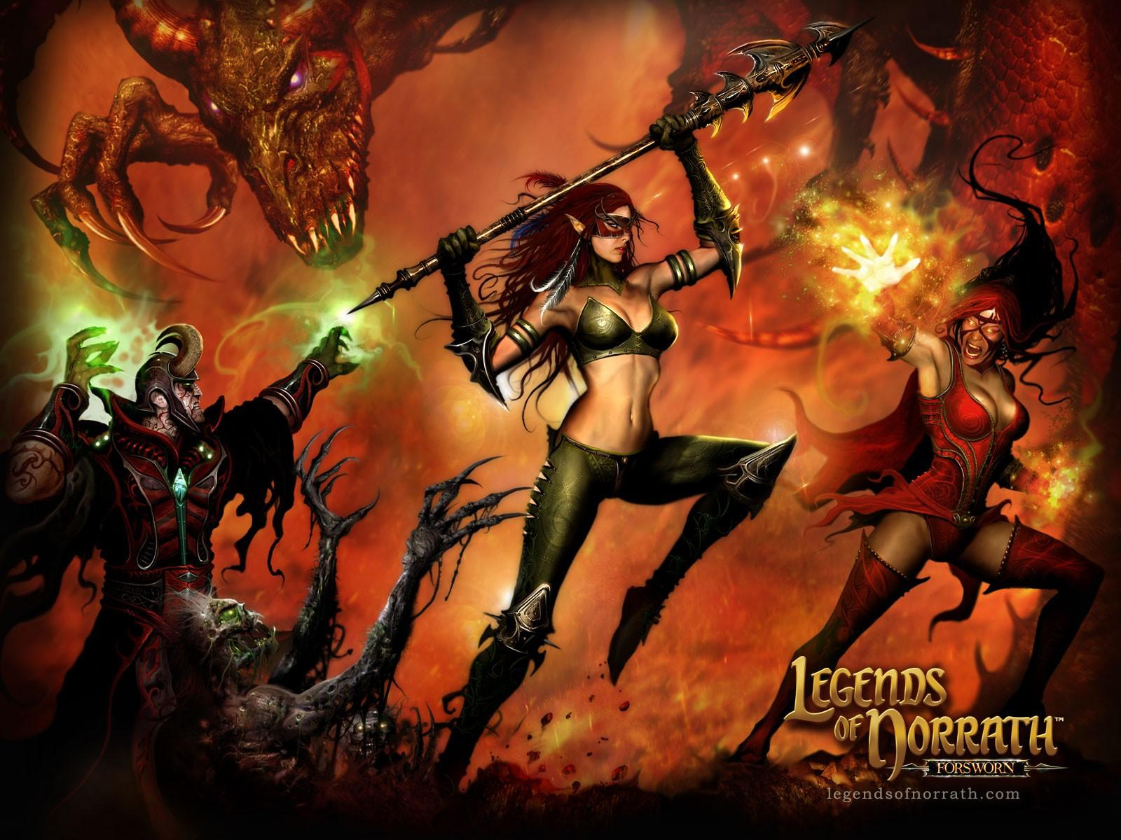 ���� Legends of Norrath 1600x1200