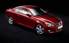 Lexus IS-250-C red / 1920x1200