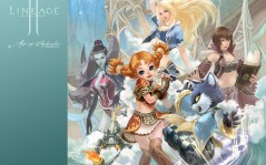 Lineage 2 Chronicle 2 Age of Splendor / 1600x1200