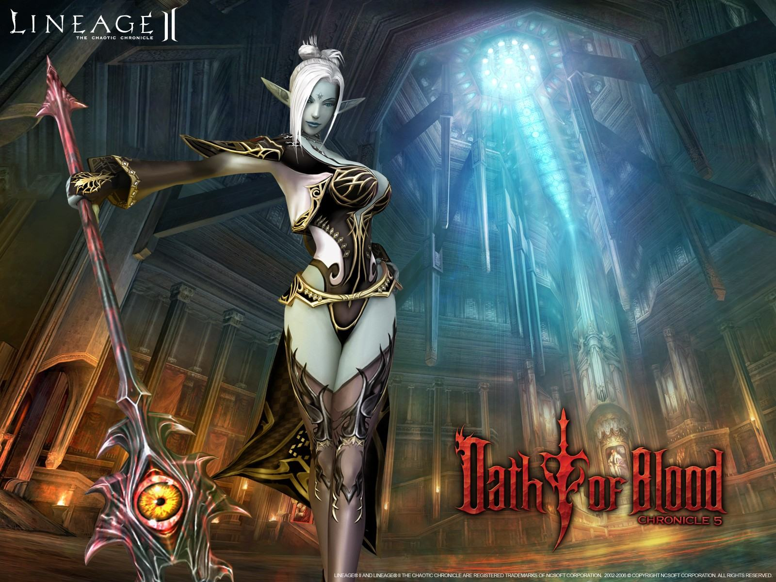 Обои Lineage II Chronicle 4 Scions of Destiny 1600x1200