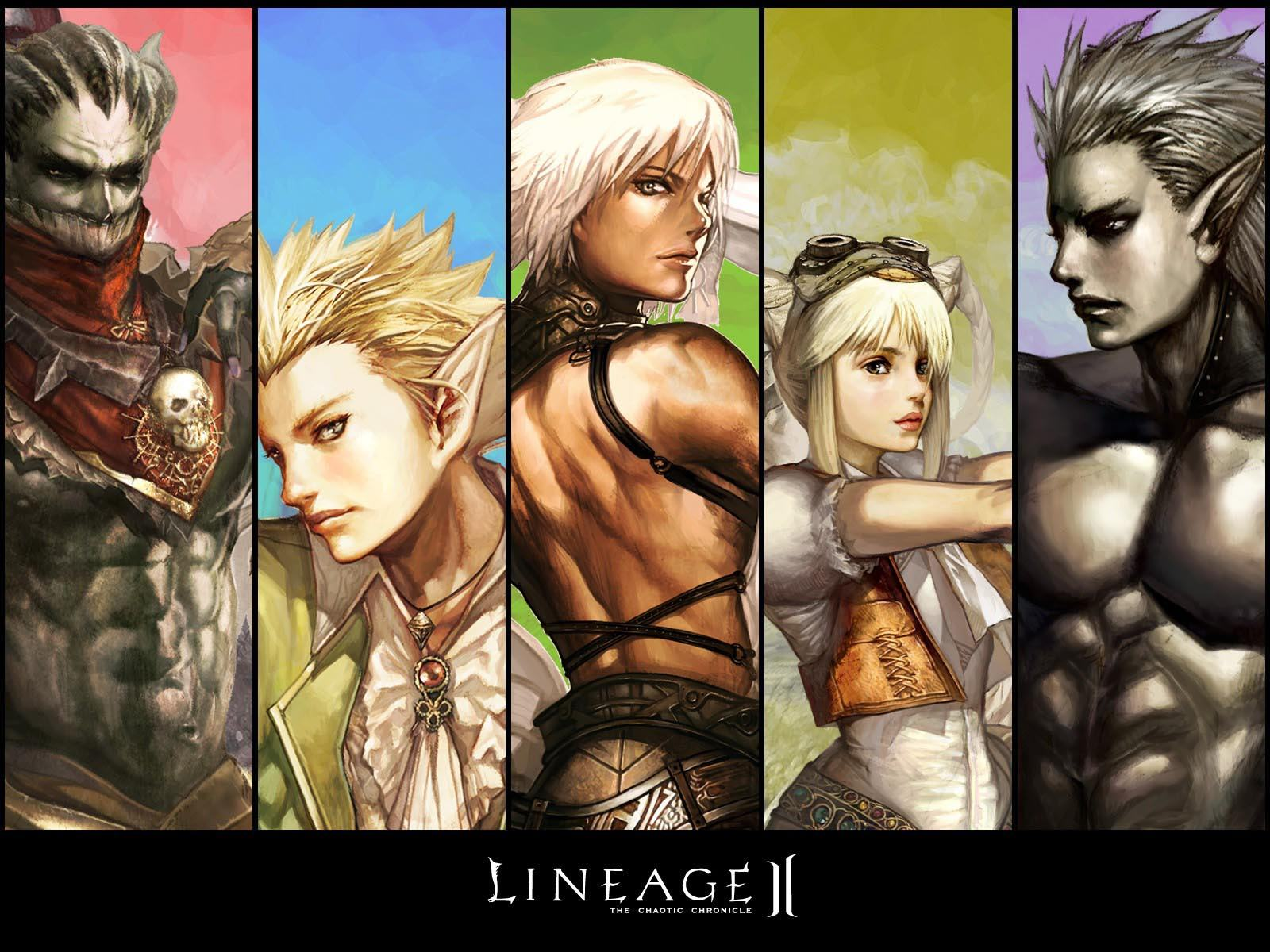 Обои Lineage: The Chaotic Chronicle 1600x1200