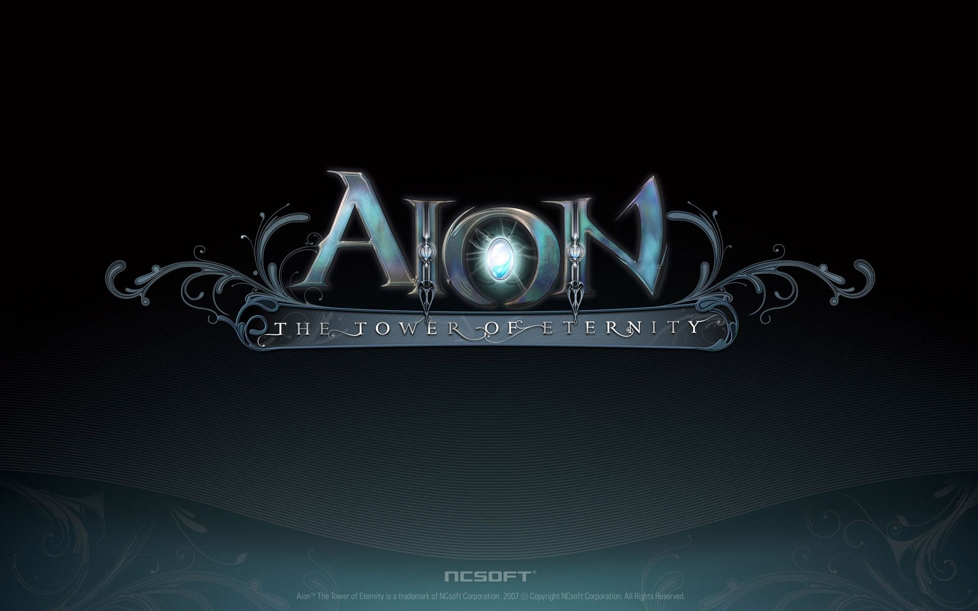 Обои Логотип Aion The Tower of Eternity 1920x1200