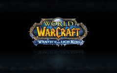 Логотип World of Warcraft / 1280x800