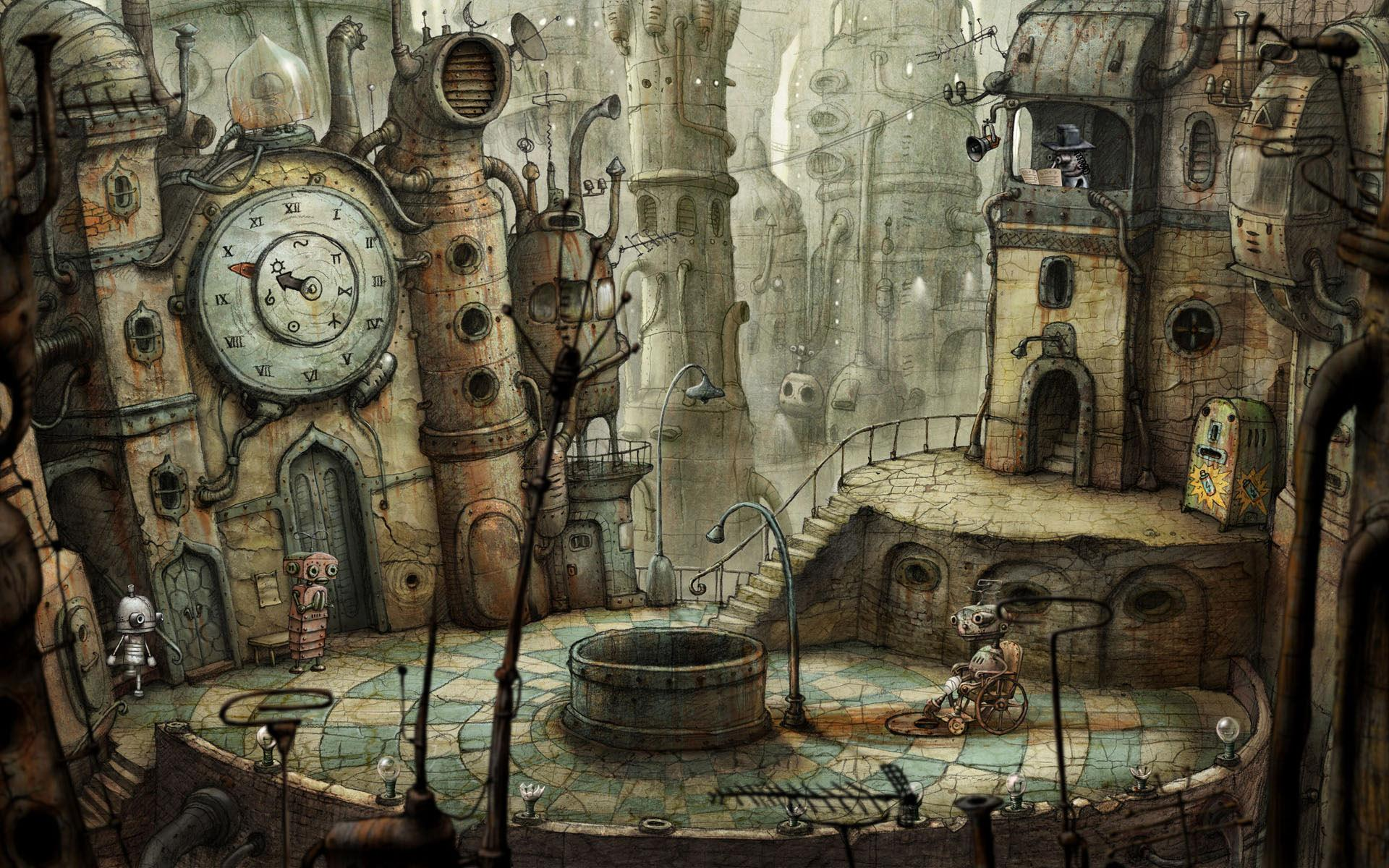 ���� Machinarium 1920x1200