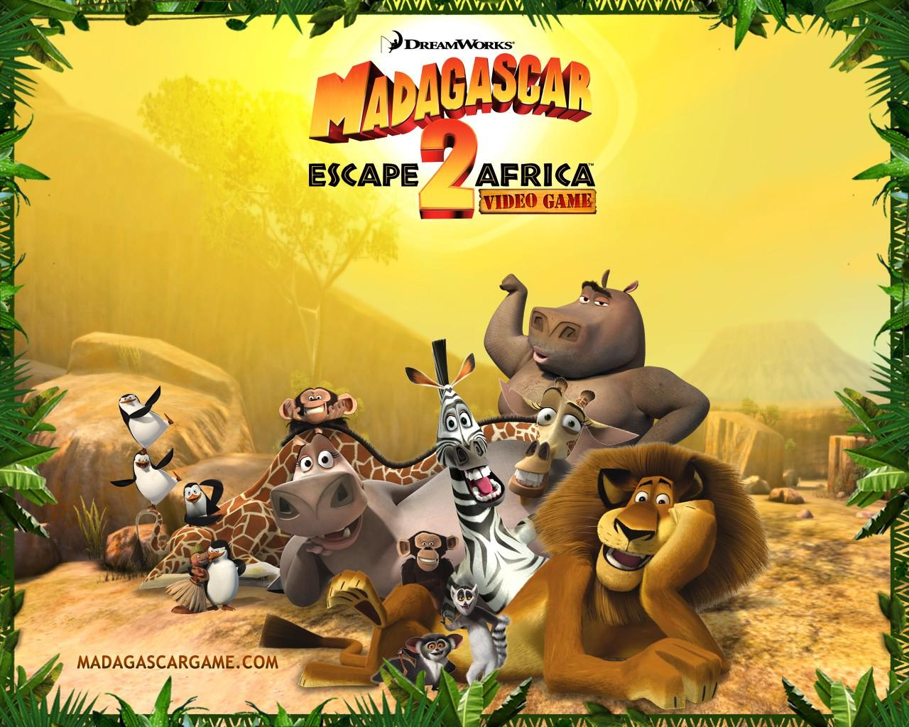 Обои Madagascar: Escape 2 Africa 1280x1024