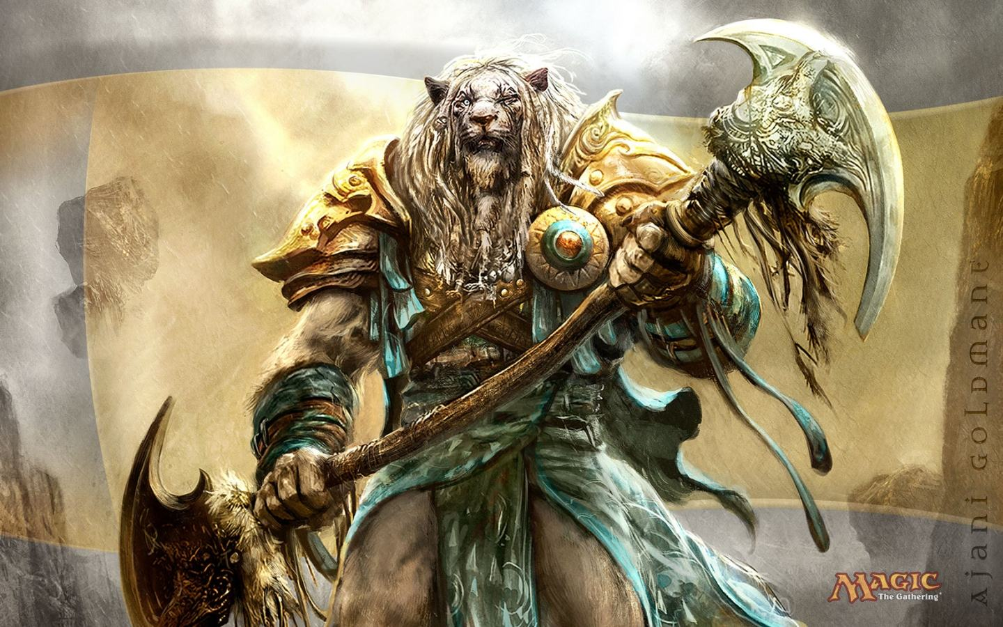 Обои Magic Gathering - Ajani 1440x900