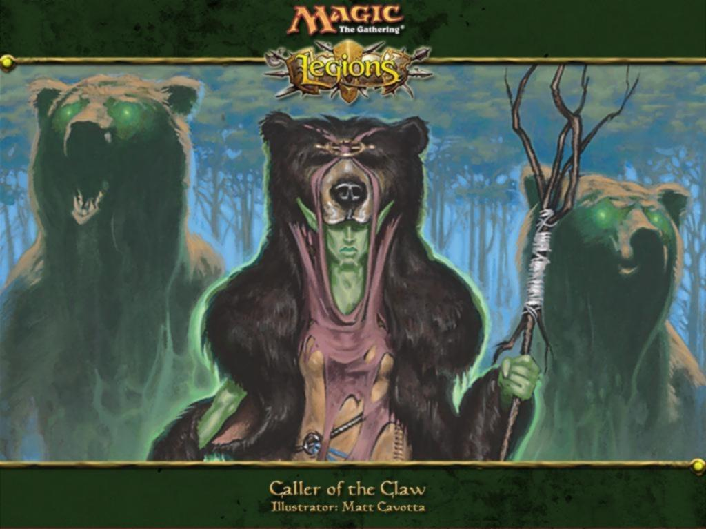 Обои Magic Gathering - Caller of the claw 1024x768