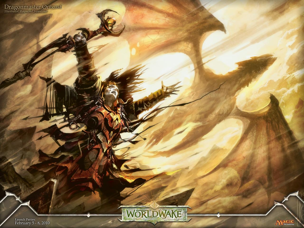 Обои Magic Gathering - dragonmaster 1280x960