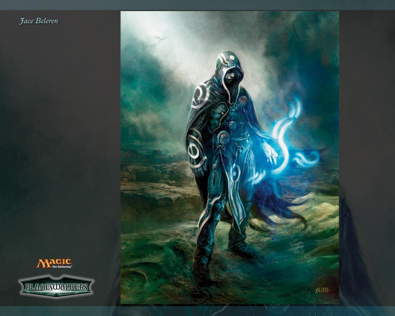 Обои Magic Gathering - Jace 1280x1024