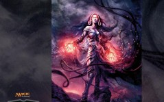 Magic Gathering - Liliana / 1024x768