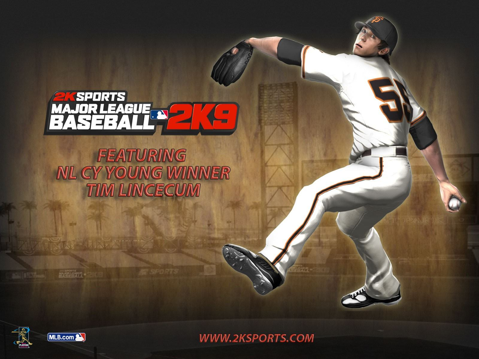 Обои Major League Baseball 2K9 1600x1200