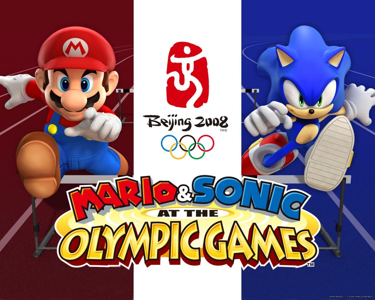 Обои Mario & Sonic at the Olympic Games 1280x1024