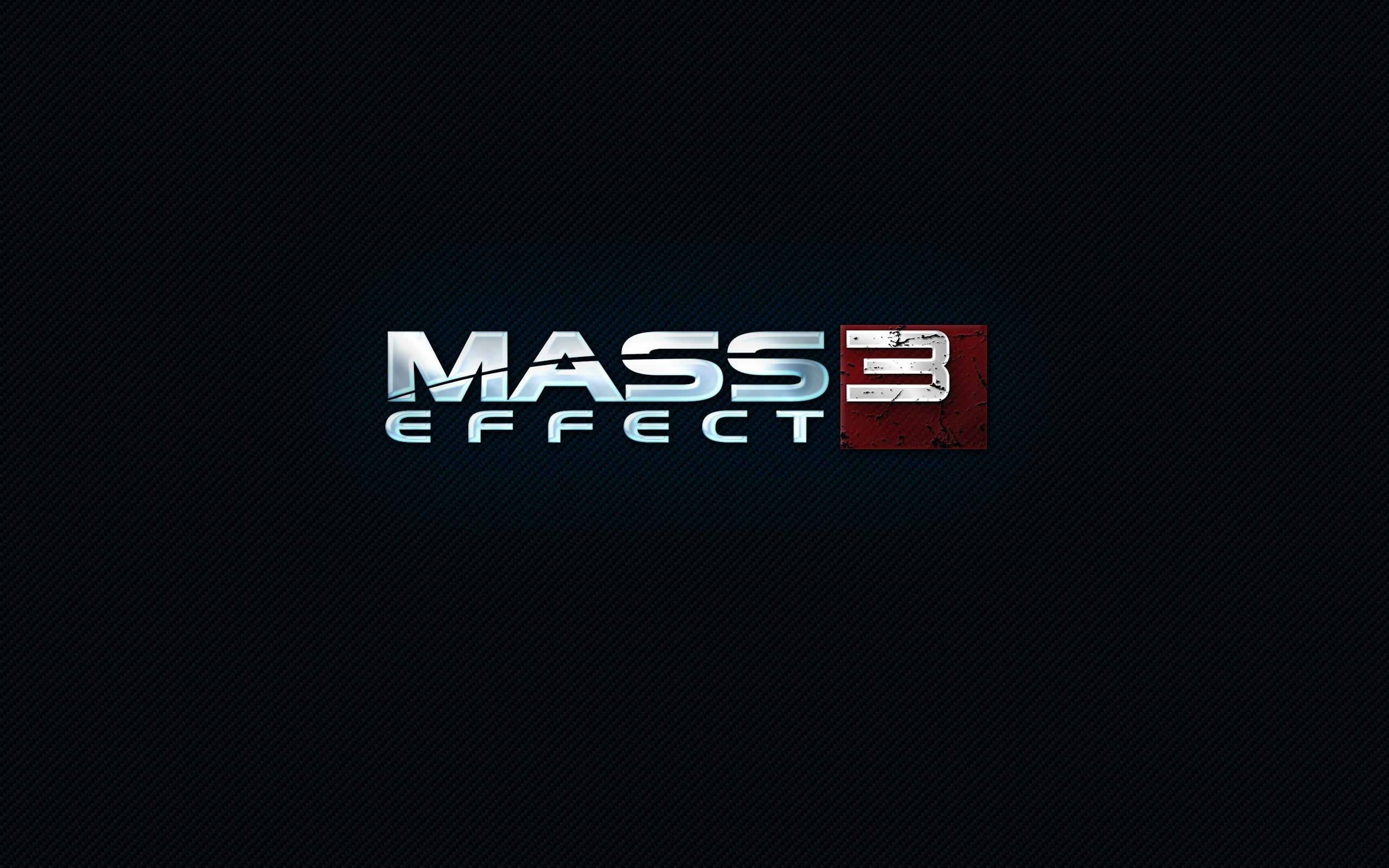 Обои Mass effect 3, carbon 2560x1600