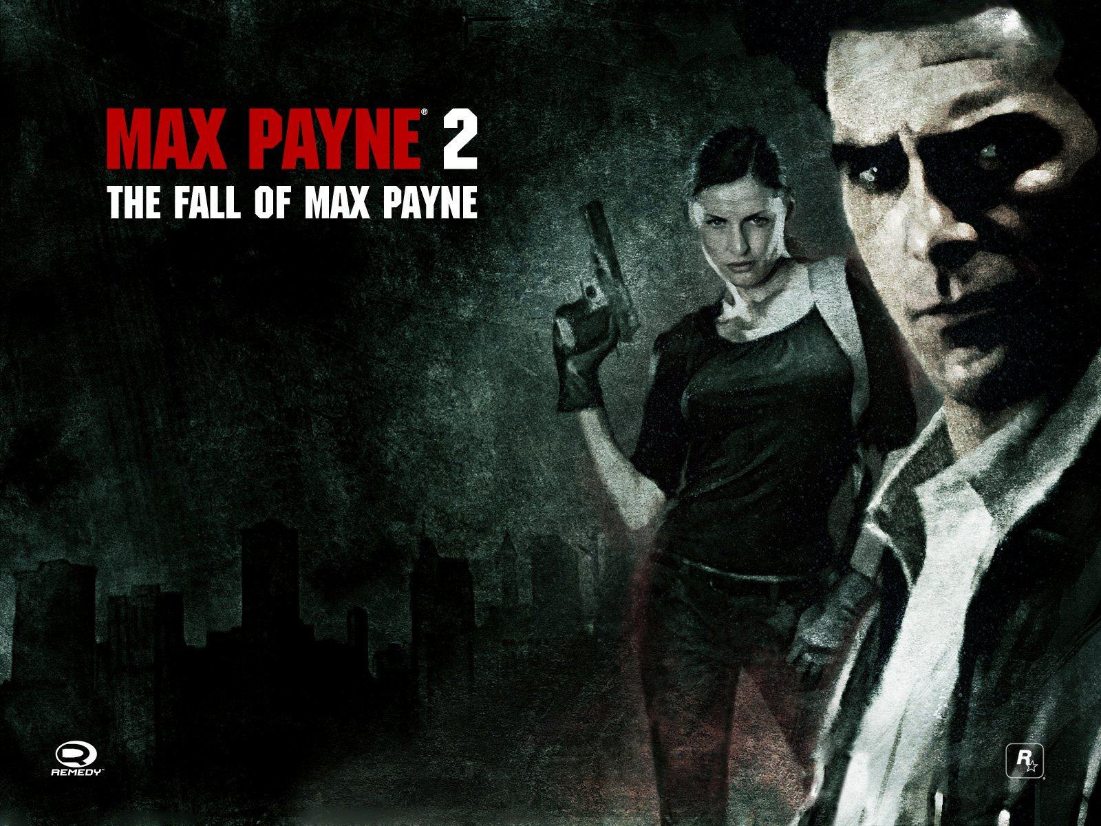 Обои Max Payne and Mona Sax 1600x1200